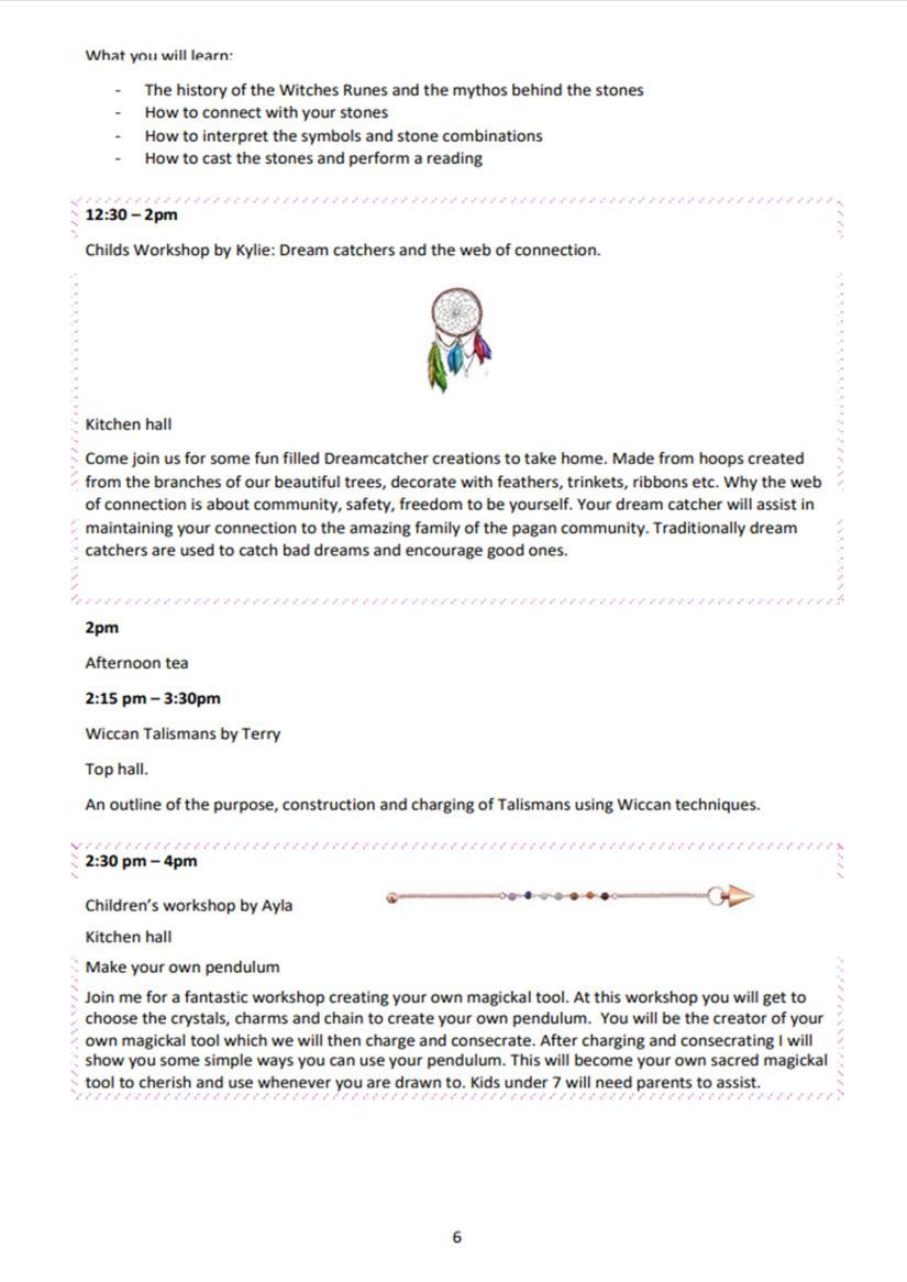 Timetable p6